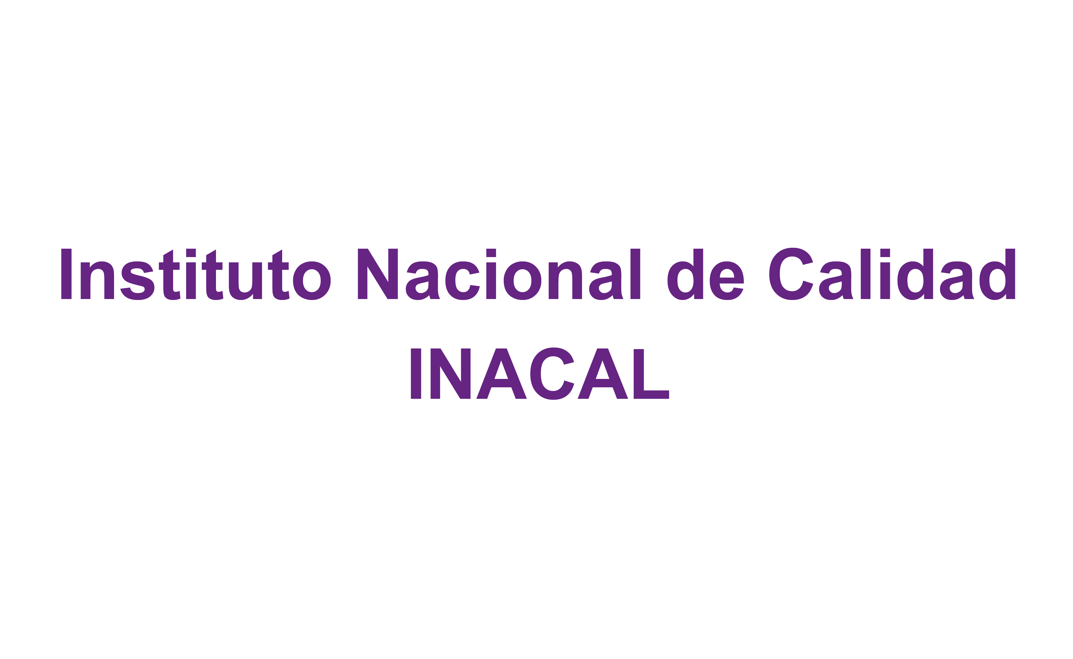 Acreditación por INACAL